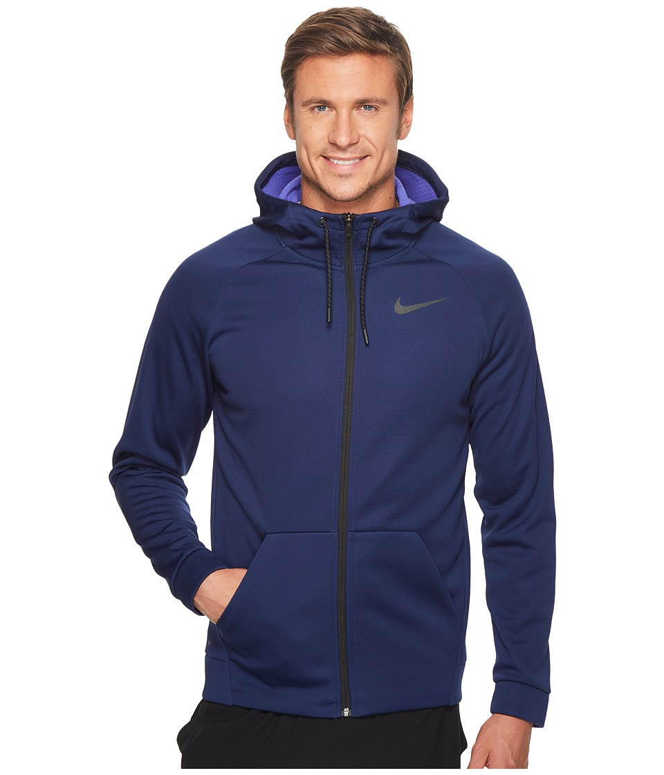 Nike Therma Sphere Full-Zip Training Jacket (Binary Blue/Persian Violet/Black) Men