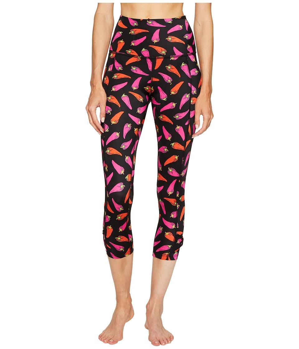 Kate Spade New York x Beyond Yoga - Cinched Side Bow Capri Leggings