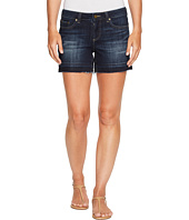 TWO by Vince Camuto - Undone Hem Indigo Jean Shorts