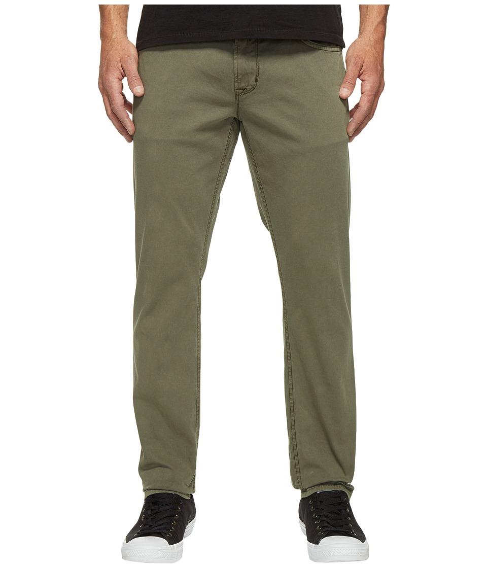 Hudson Blake Slim Straight Jeans in Infantry Green (Infantry Green) Men