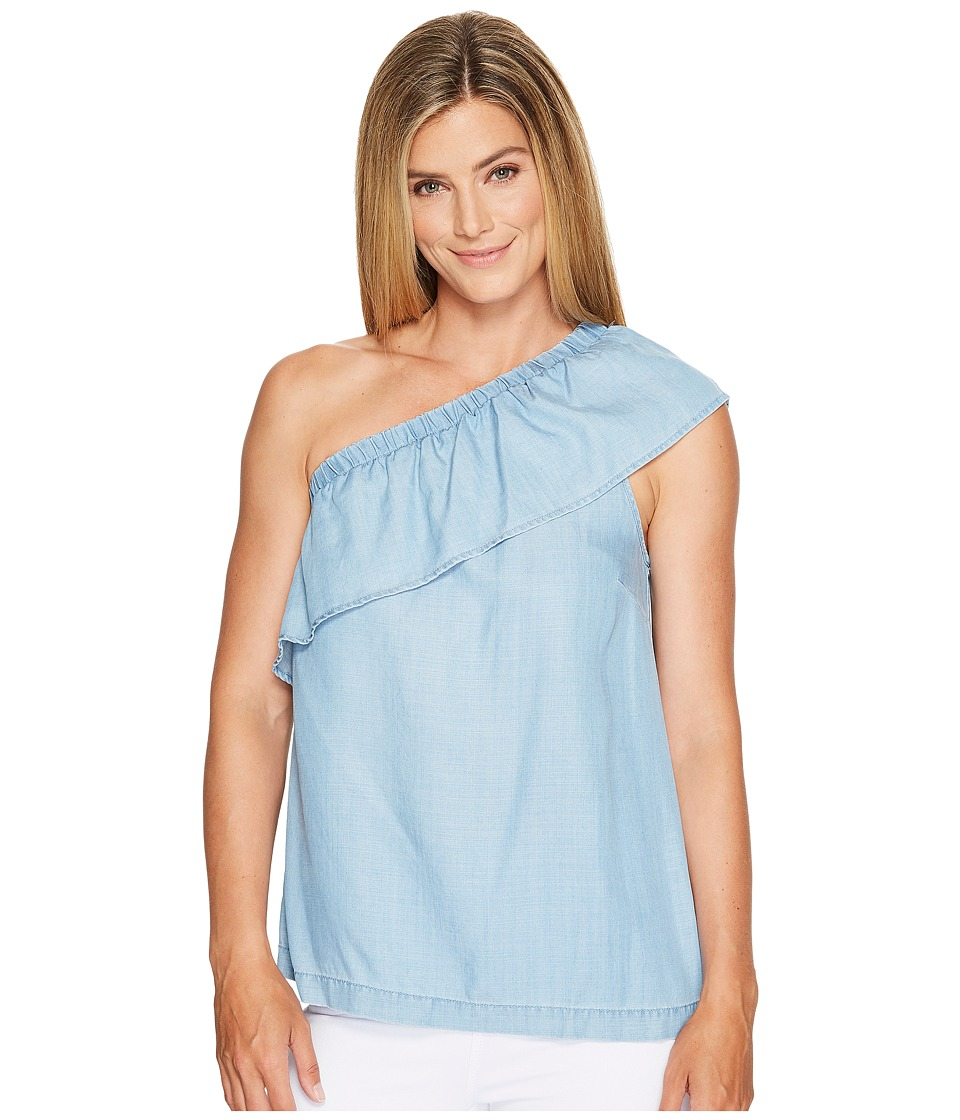 TWO by Vince Camuto - One Shoulder Tencel Blouse
