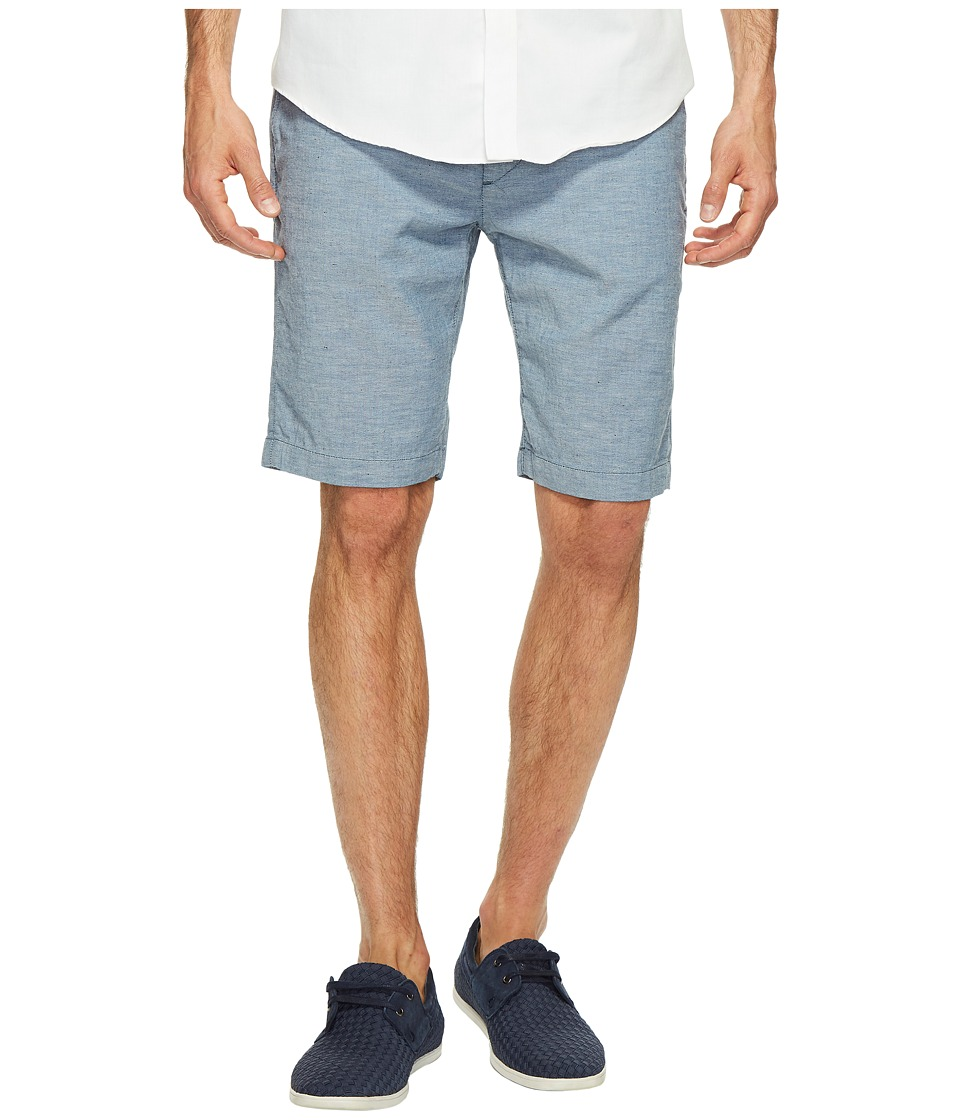 7 For All Mankind The Chino Shorts in Chambray Nep (Chambray Nep) Men