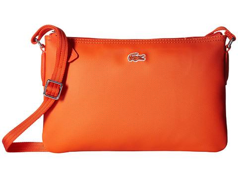 Lacoste L.12.12 Concept Flat Crossover Bag - Cherry Tomato