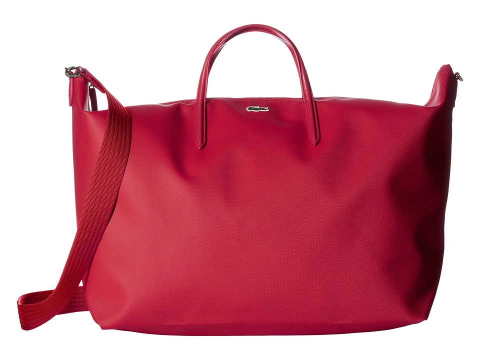 Lacoste L.12.12 Concept Travel Shopping Bag (Virtual Pink...