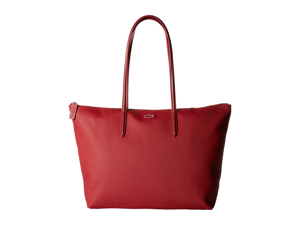 Lacoste L.12.12 Concept Large Shopping Bag (Biking Red (P...