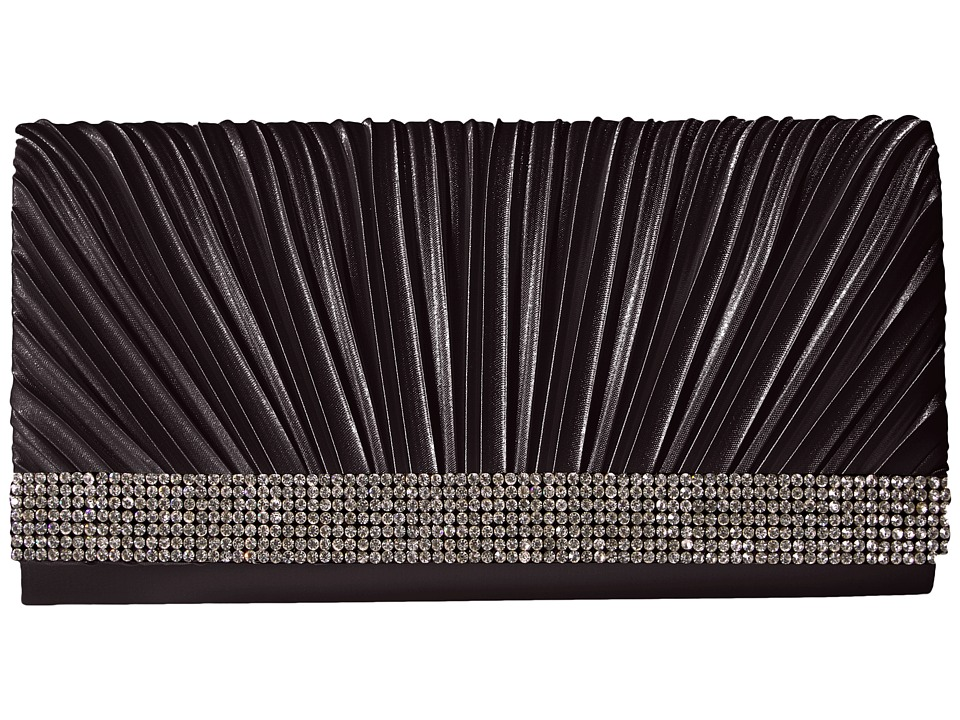 Jessica McClintock Jessica McClintock - Chloe Pleated Satin Clutch