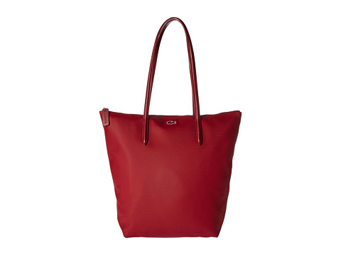 Lacoste L.12.12 Concept Vertical Shopping Bag - Biking Red (Prior Season)