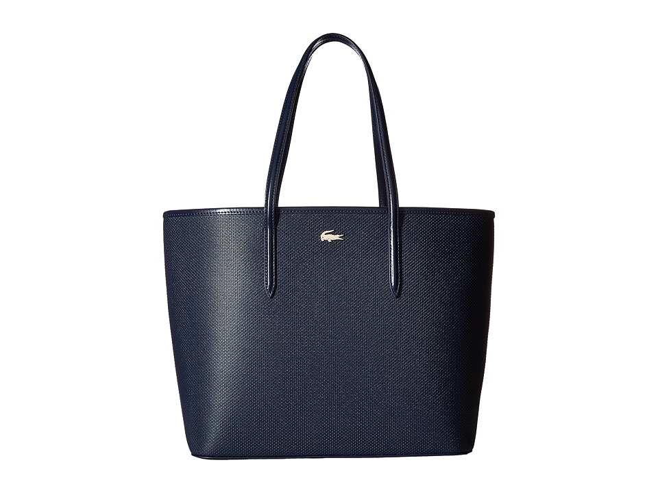 Lacoste - Chantaco Shopping Bag (Peacoat 1) Handbags