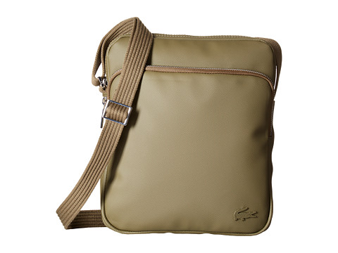 Lacoste Small Classic Crossover Bag - Dark Olive