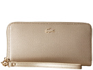 Lacoste Chantaco Holidays Large Wristlet Zip Wallet