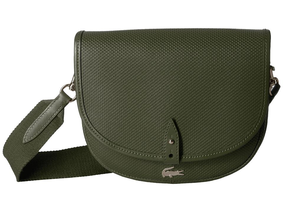 Lacoste Chantaco Round Crossover Bag (Rosin) Handbags