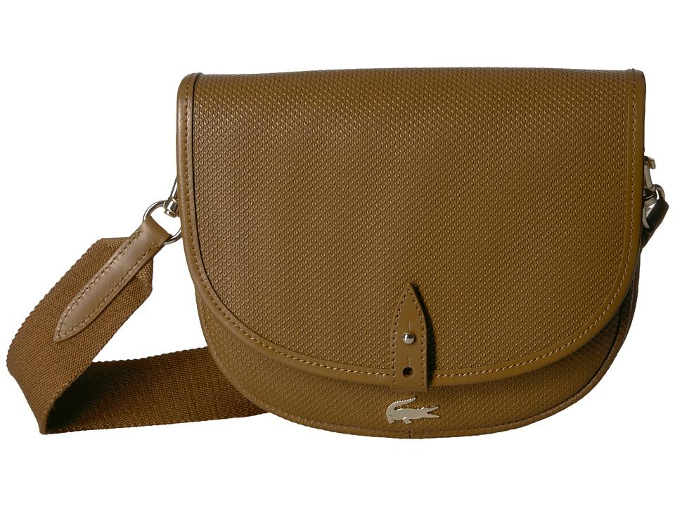 Lacoste Chantaco Round Crossover Bag (Breen) Handbags