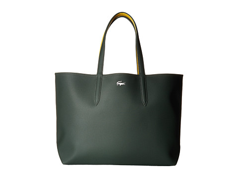 Lacoste Anna Large Reversible Shopping Bag - Sinople Sulphur