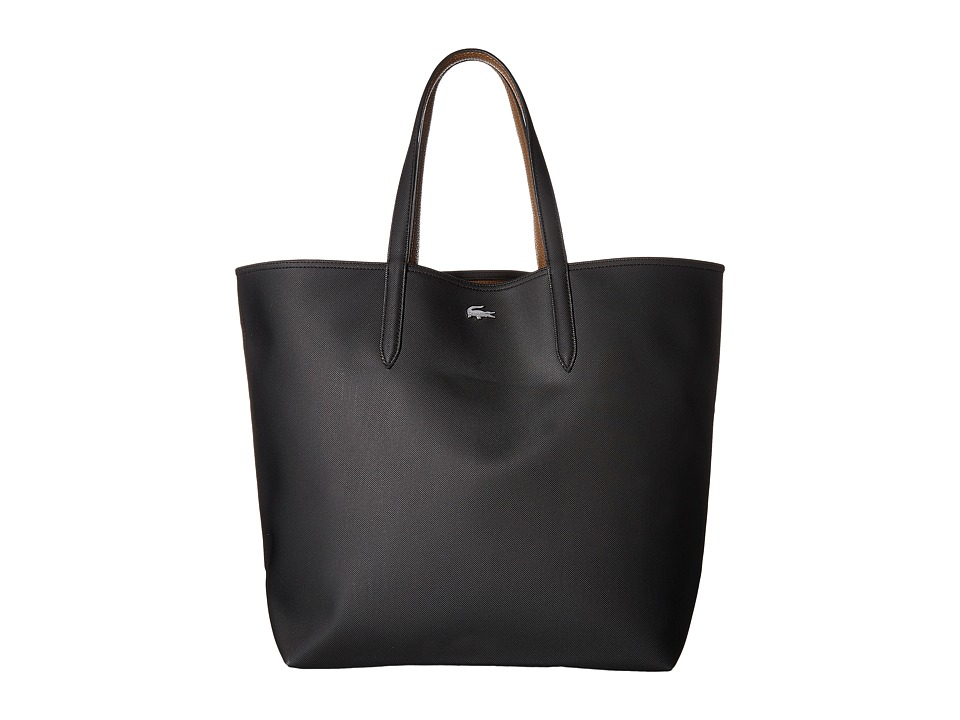 Lacoste - Anna Large Reversible Shopping Bag (Black/Breen) Handbags