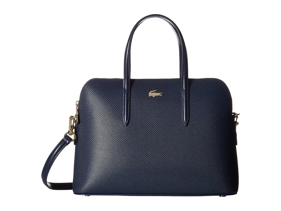 Lacoste - Chantaco Small Bugatti Bag (Peacoat) Handbags
