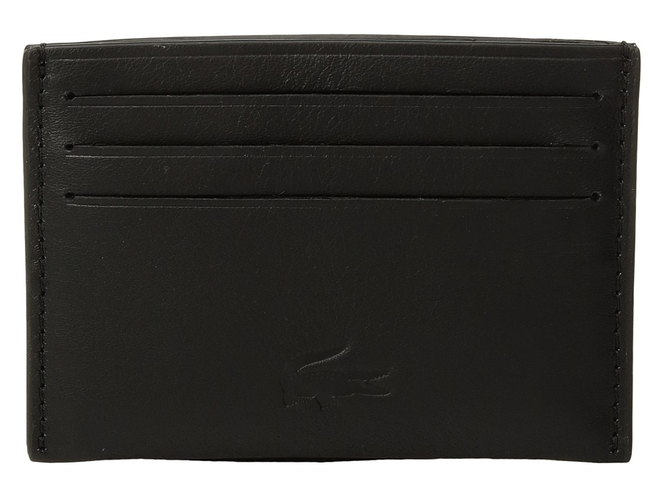 Lacoste - Full Ace Credit Card Holder (Black) Credit card Wallet