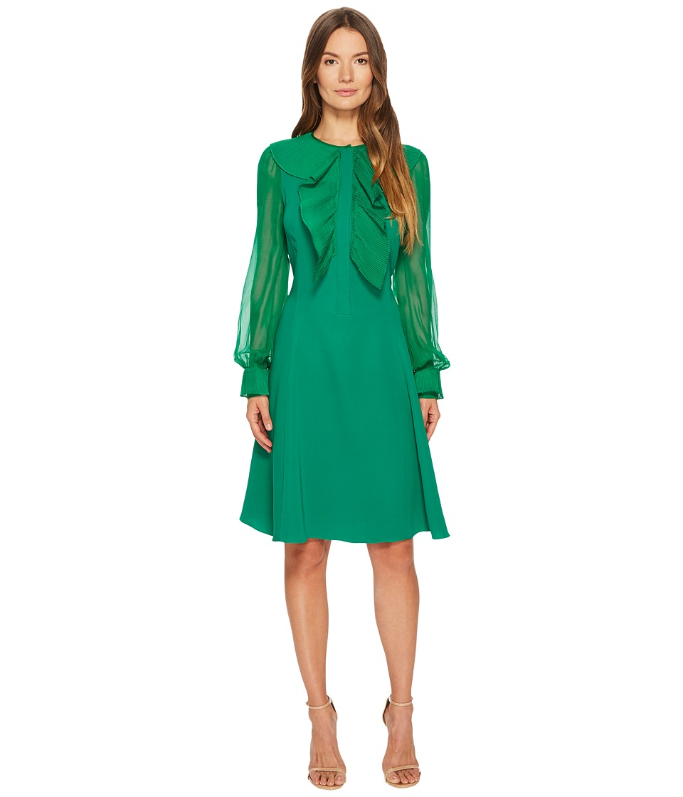 Prabal Gurung - Silk Cady Long Sleeve Dress