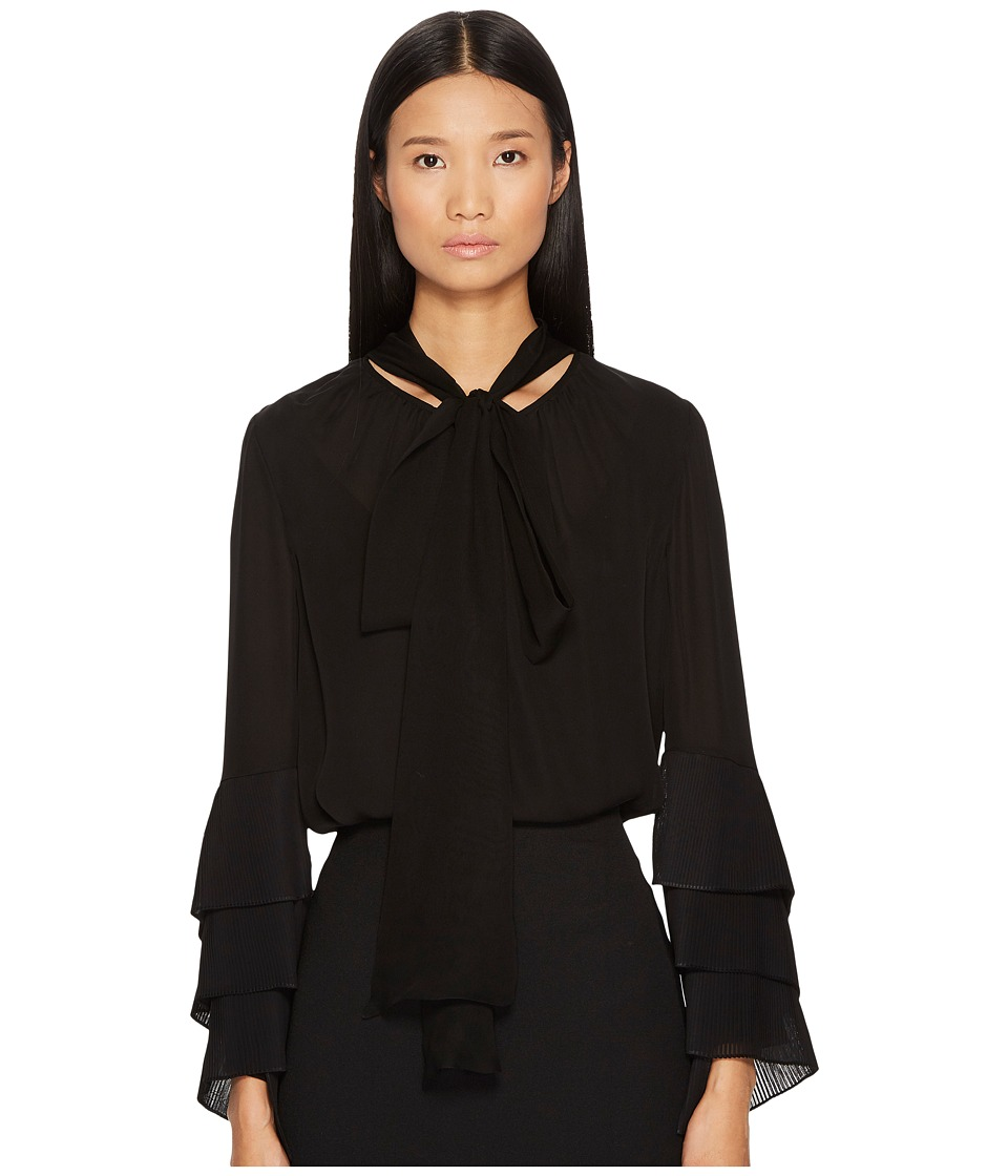 Prabal Gurung - Chiffon Long Sleeve Blouse