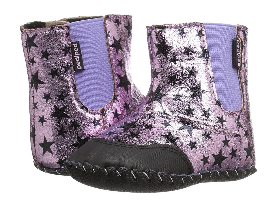 pediped Rihanna Originals (Infant) (Pink Star) Girl's Shoes