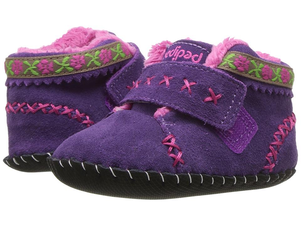 pediped Rosa Originals (Infant) (Purple) Girl's Shoes