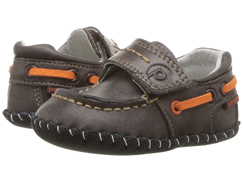 pediped Norm Originals (Infant) (Chocolate) Boy's Shoes