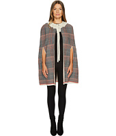 Sonia by Sonia Rykiel - Check Woolsilk Cape