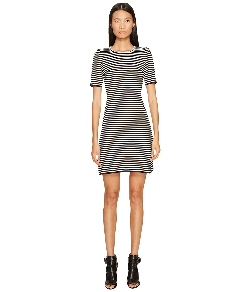 Sonia Rykiel - Rykiel Striped Dress (Black/White) Womens Dress
