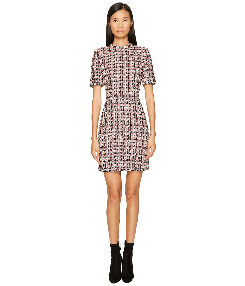 Sonia Rykiel - Cotton Tweed Dress (Multi Red) Womens Dress