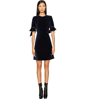 Sonia by Sonia Rykiel - Velvet Short Sleeve Dress