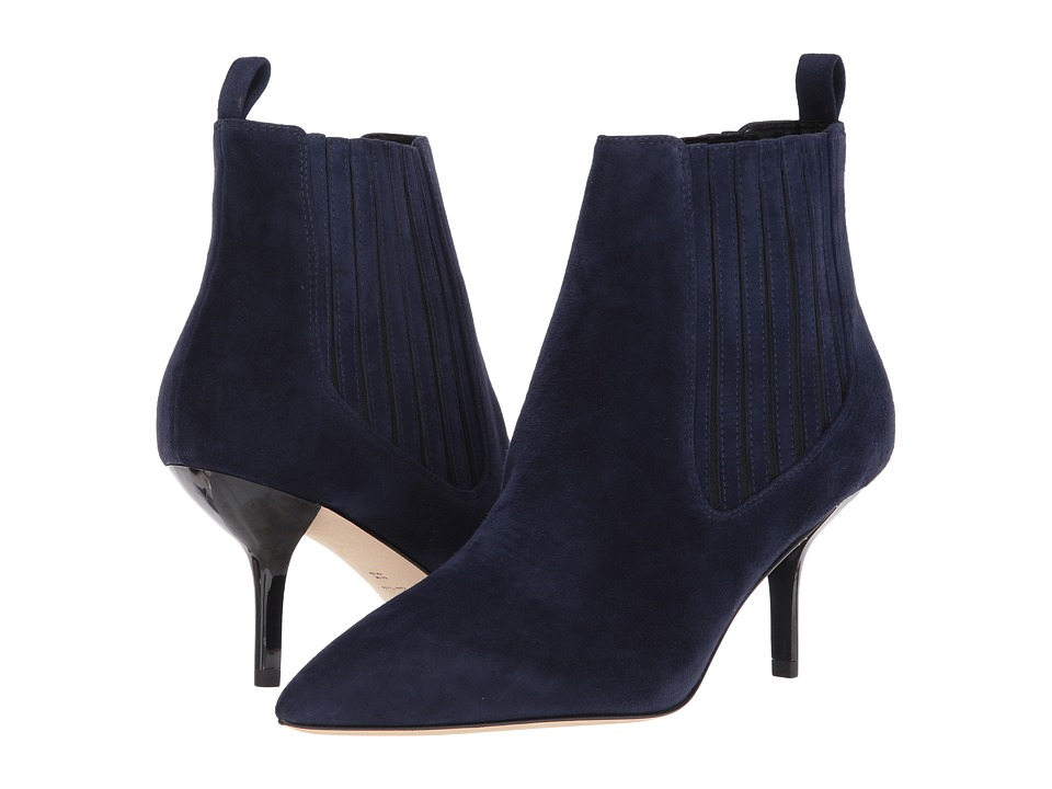 Diane Von Furstenberg Mollo (Midnight Kid Suede) Women's ...