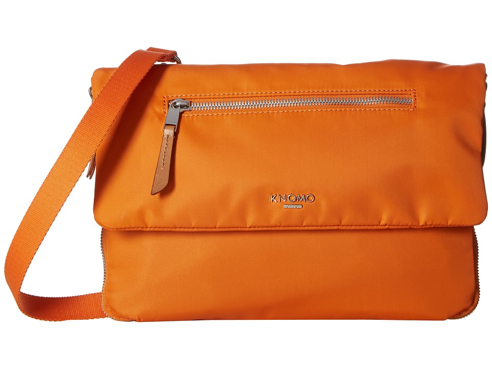 KNOMO London Mayfair Elektronista Digital Clutch Bag (Papaya) Clutch Handbags