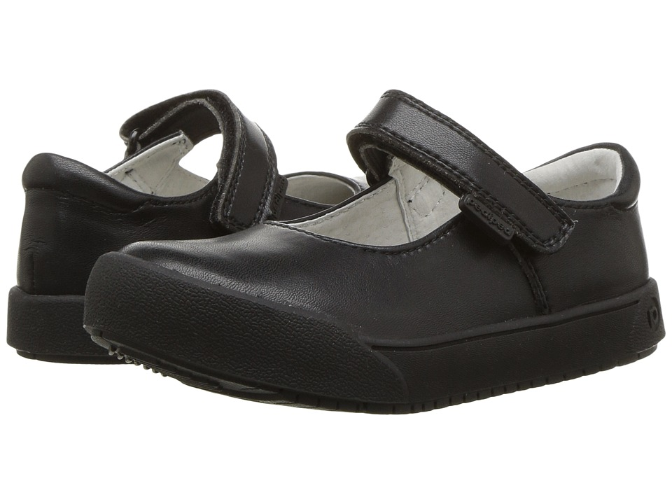 pediped Barbara Flex (Toddler/Little Kid/Big Kid) (Black) Girl's Shoes