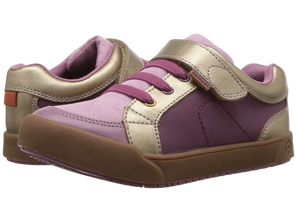 pediped - Dani Flex (Toddler/Little Kid) (Dusty Rose) Girls Shoes