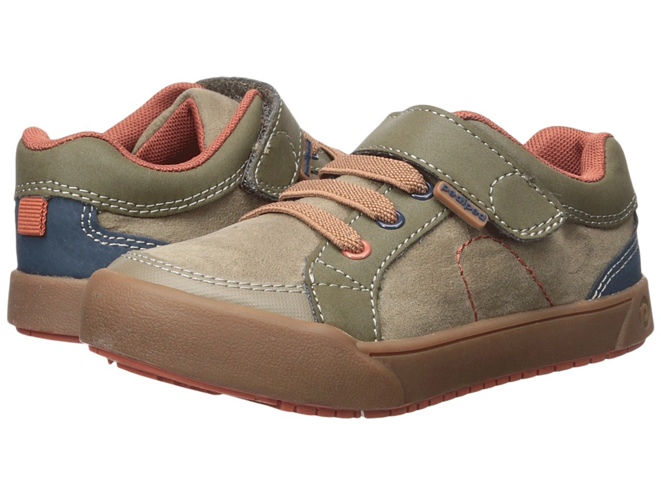 pediped Dani Flex (Toddler/Little Kid) (Earth) Boy's Shoes