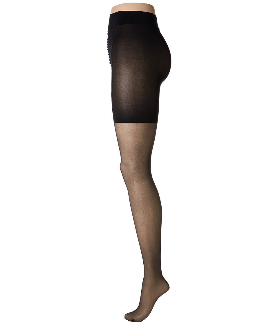 Wolford - Luxe 9 Control Top Tights (Black) Control Top Hose