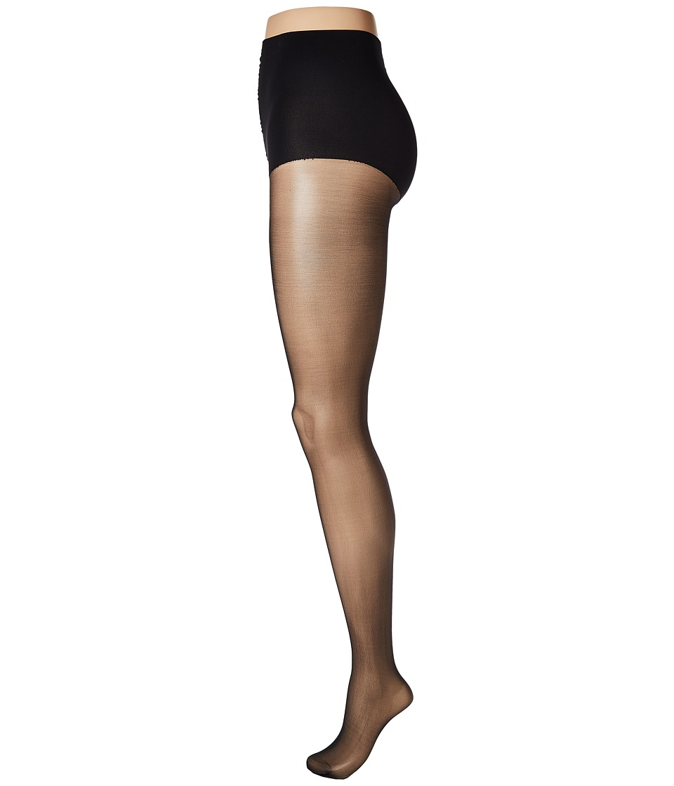 Wolford - Individual 10 Control Top Back Seam (Black) Hose