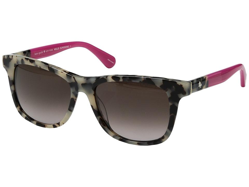Kate Spade New York - Charmine/S (Havana Pink/Brown Gradi...