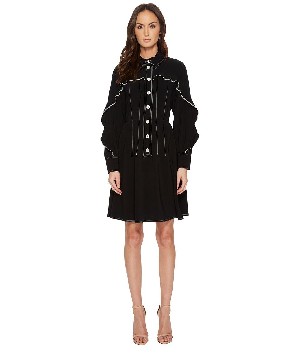 Sportmax - Duda Dress (Black) Womens Dress