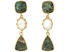 LAUREN Ralph Lauren Linear Stone Drop Earrings