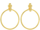 LAUREN Ralph Lauren Door Knocker Clip Earrings
