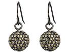 LAUREN Ralph Lauren Pave Ball Drop Earrings