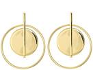 LAUREN Ralph Lauren Double Circle Hoop Earrings