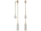 LAUREN Ralph Lauren Front Over Back Fresh Water Pearl Threader Earrings