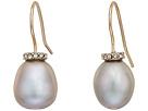 LAUREN Ralph Lauren Oval Freshwater Pearl Drop Earrings