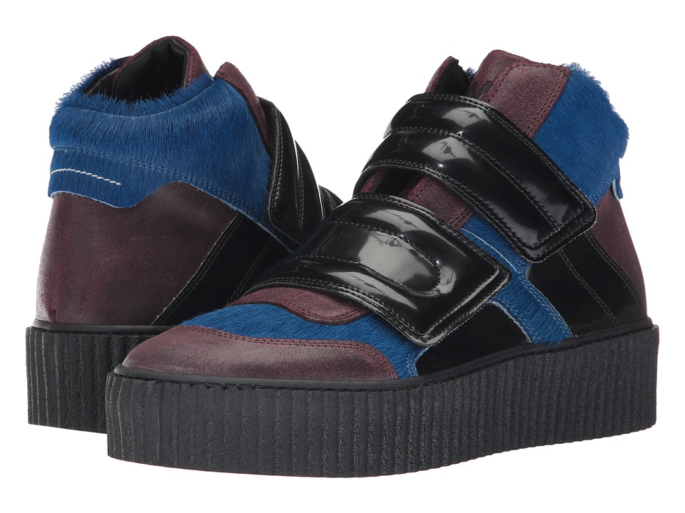 MM6 Maison Margiela - Mixed Material Creeper High Top