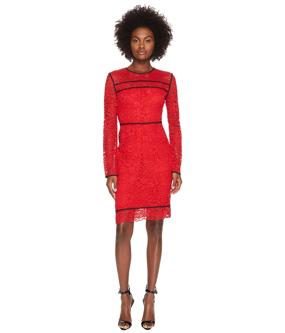 Sportmax - Nancy Long Sleeve Lace Dress