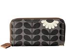 Orla Kiely - Wild Daisy Print Big Zip Wallet