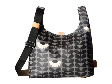 Orla Kiely Wild Daisy Print Midi Sling Bag - Jet
