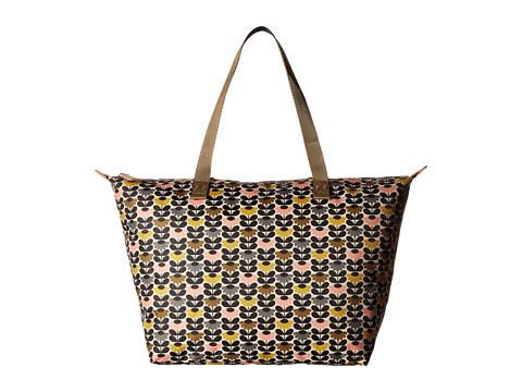 Orla Kiely Mini Wild Daisy Printed Zip Shopper - Multi