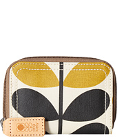 Orla Kiely - Stem Check Print Small Zip Wallet